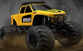 100 Monster Jam Toy Truck Videos BroDozer Debut
