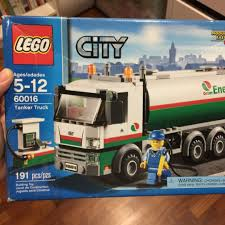 Pre-loved Lego City 60016 Tanker Truck, Toys & Games, Bricks ...