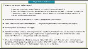 28 adapter vs decorator vs facade vs proxy design pattern in
