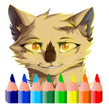warrior cat warrior cats coloring android apps on play