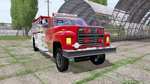 100 Ford Fire Truck F700 Fire Truck For Farming Simulator 2017