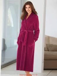robe de chambre velours aura le gilet bois de 38235 femme gilets