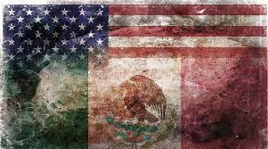 American Mexican Tattered Flag Digital Art By Az Jackson