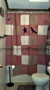 Diy Primitive Bathroom Ideas by Country Shower Curtains Appleseed Primitives Primitive And