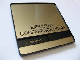Conference Room Signs Sliding Availability fice Signs