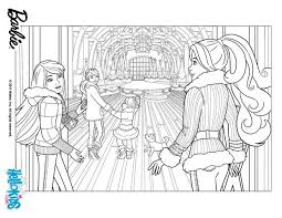 BARBIEs Christmas Adventure Coloring Page