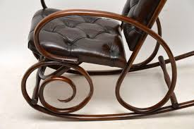 Antique Bentwood & Leather Rocking Chair By Thonet - LA90843 ... Vintage Bentwood Rocking Chair Makeover Zitaville Home Thonet Antique Rocker Chairish Art Nouveau Antique Bentwood Solid Beech Cane Rocking For Sale French Salvoweb Uk At 1st Sight Products Mid Century Antique Thonet Type Bentwood Rocking Chaireither A Salesman Sample Worldantiquenet Style Old Rare Chair Even Before The Ninetehcentury Leather By Interior Gebruder Number 7025 Michael Glider Chairs For Sale 28 Images