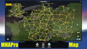 MHAPro Map EU 2.2 (ver.1.22 ETS2) - Euro Truck Simulator 2 Mods ... Maps American Truck Simulator Mods Part 14 Us Truckload Spot Market Burns Hot Fueled By Demand Gps Route Navigation Apk Download Free App Handmade Card Stampin Up Loads Of Love Truck With Hearts And Map Morozov Express 63 Mod For Ets 2 V2 Collectif France V124 Compatible 124 Ets2 Euro Mario Map 130 Mod Mods Maps Map Savegame Complete 100 Explored Mario V123 128x V122 Bus Multiple At Of Romania V91 126x For Mod