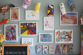 Creative Arts Area And Gallery For Kids