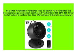 best product mycarbon ventilator leise 12 stufen
