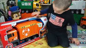 100 Lego Recycling Truck Dickie Toys Toy Unboxing Jack Jack Playing With Huge Garbage S Collection