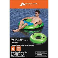 Inflatable Tubes For Toddlers by Ozark Trail 45 Easy Board River Tube Walmart Com