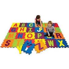 16 Piece 4 v 4 Activity Play Mat Alphabet Kids Fun Activity Toy