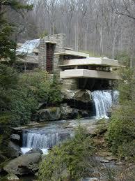 100 Water Fall House Frank Lloyd Wrights Ing Frank Lloyd Wright