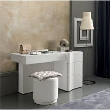 White Modern Vanity Table The Holland How To Decorate A