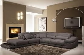 canapé cuir gris anthracite canap mobilier privé