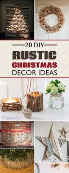 20 Amazing DIY Rustic Christmas Decor Ideas