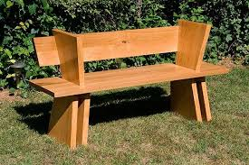 Handmade Outdoor Wooden Bench by Woodworks