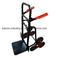 100 Hand Truck Stair Climber China Foldable Six Wheel Trolley For Climbing S