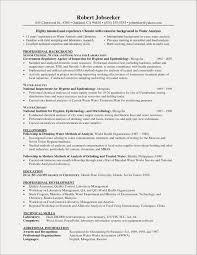 Analytical Chemist Cover Letter Luxury Chemistry Resume Idealstalist Examples