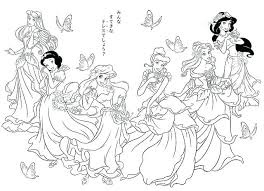 Disney Princess Coloring Pages To Print Baby Printable
