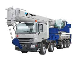 Truck-mounted Telesc. Crane Read More About Specifications ...