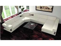 Poundex Bobkona Atlantic Sectional Sofa by White U Shaped Sectional Sofa New Lighting Fashionable U