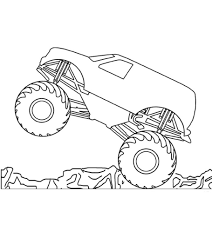 100 Monster Truck Grave Digger Videos Coloring Pages Ideas Er Video Free
