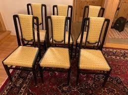 elegante esszimmer stühle 6 stück