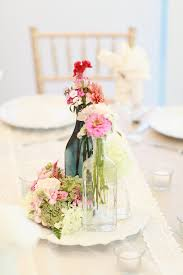 Simple Spring Flower Centerpieces