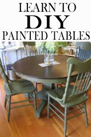 Painting Your Kitchen Table Learn How To Get It Down Right But Learning What