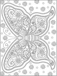 Butterfly Dover Coloring PagesColoring