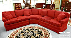 4087 red with black leather sectional sofa recliners chaise value