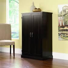 Sauder Edge Water Computer Desk Estate Black by Furniture Sauder Edge Water Computer Armoire Plus Hutch And Desk