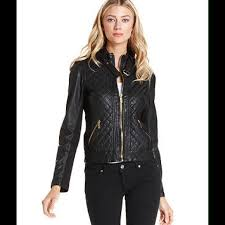 HP 🎉❤Michael Kors Quilted Leather Jacket❤❤