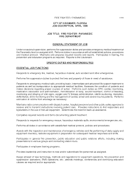 resume for firefighter paramedic 20 well crafted firefighter resume sles vinodomia