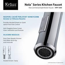 Removing Moen Kitchen Faucet Flow Restrictor by Kitchen Faucet Kraususa Com