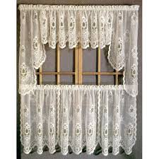 Amazon Lace Kitchen Curtains by Impressive Lace Kitchen Curtains And White Lace Kitchen Curtains