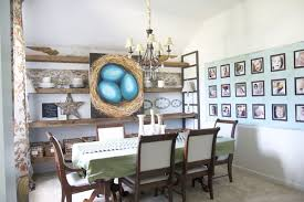 Reclaimed Barn Wood Custom Shelving A Dining Room Touch Up