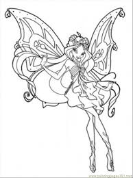 Queen Bloom Coloring Page
