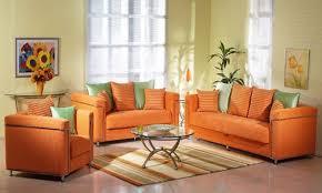 Creative Inspiration Orange Furniture Living Room