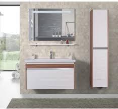 delta badmöbel unterschrank mit keramik waschbecken