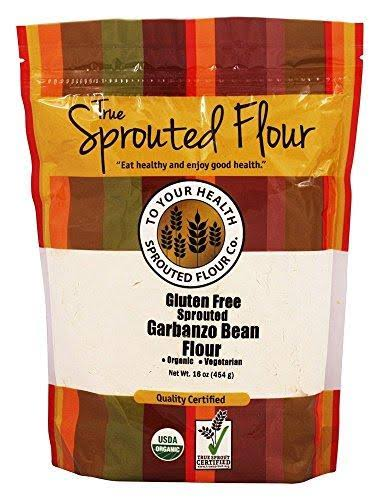 to Your Health 1 lb. Organic, Sprouted Garbanzo Bean Flour