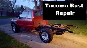Toyota Tacoma Frame Rust Repair Episode 1 Of 2 - YouTube Look At This Totally Rustedout Toyota Tacoma Tundra Recalled For Frame Rust Nh Oil Undercoating To Pay 34 Billion Rusty Frames On And Vwvortexcom Truck Frame Recalls Still In Full Swing Rusted Lawsuit Recall Important Notice Problems 4runner Being Looked At By Feds Carcplaintscom 2005 Got Recalled The Now Getting An Entirely Wikipedia Jeep Wranglers Suspension Problem Consumer Reports Unibody Vs Body Whats Difference Carfax Blog 52009 Recall Letter Page 10 Nation Forum