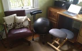 Gaiam Balance Ball Chair Replacement Ball by Improve Your Desk Chair With A Tennis Ball Try Thai Yoga