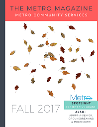 100 Tiny House Newsletter Metro Community Services