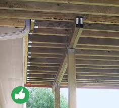 Free Standing Deck Bracing by Top 10 Deck Building Mistakes Fine Homebuilding