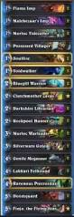 Hunter Decks Hearthstone August 2017 by Thijs Decks Archives Hs Decks And Guides