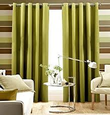 Amazon Uk Living Room Curtains by Pair Of Plain Lime Green Eyelet Ring Top Blackout Dimout