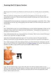 tanning bed vs spray suntan 1 638 jpg cb 1407193732